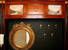Klasszikus lakberendezés egyedi bútor tervezés