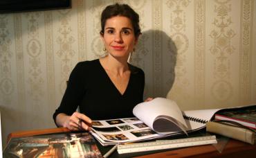 Csengery Judit lakberendező portré